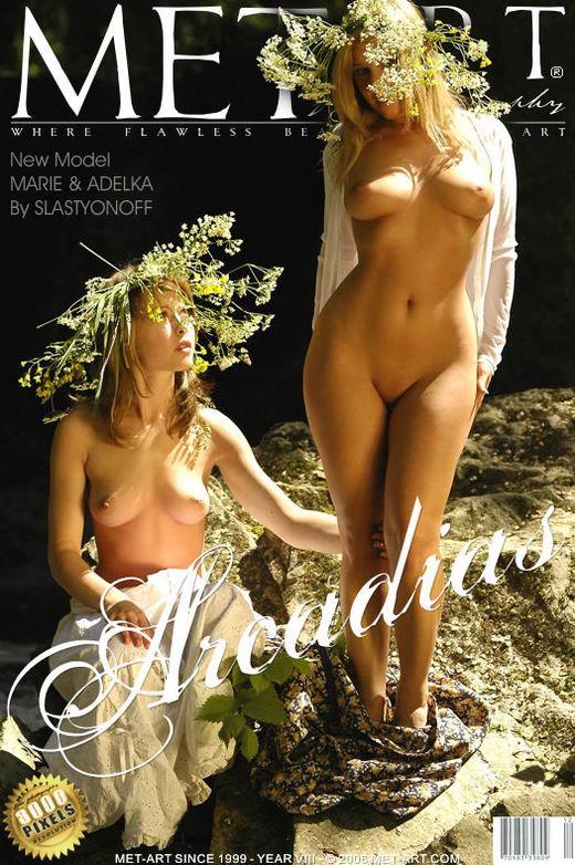 Marie C & Adelka A - `Arcadias` - by Slastyonoff for METART