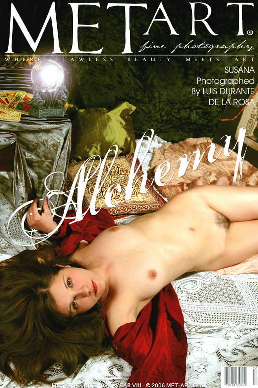 Susana B - `Alchemy` - by Luis Durante for METART