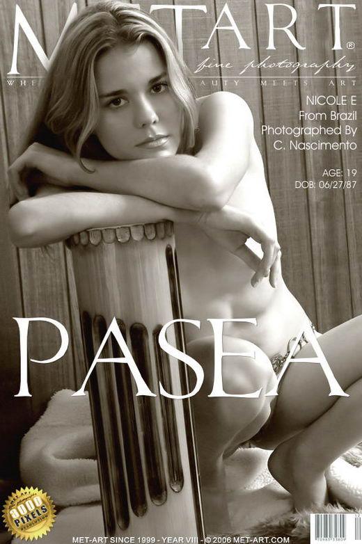 Nicole E - `Pasea` - by Clovis Nascimento for METART