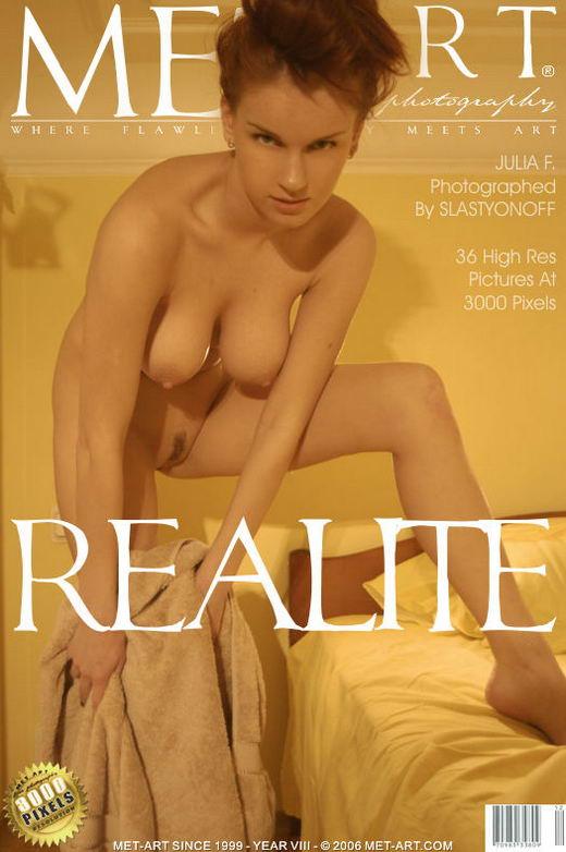 Julia F - `Realite` - by Slastyonoff for METART