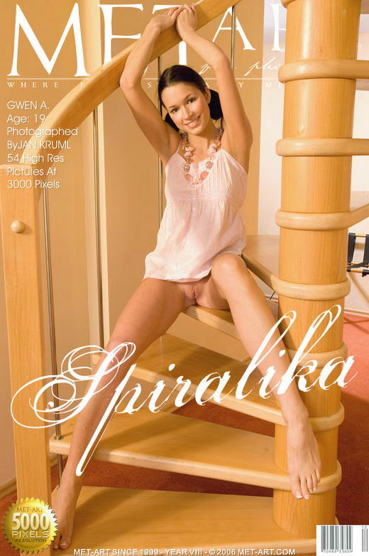 Gwen A - `Spiralika` - by Jan Kruml for METART