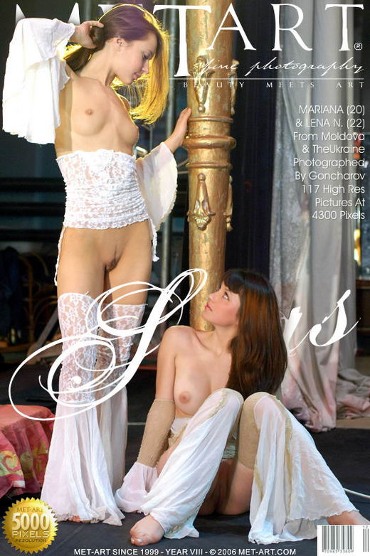 Mariana & Lena N - `Siras` - by Goncharov for METART