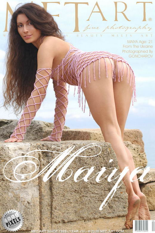 Maiya A - `Presenting Maiya` - by Goncharov for METART