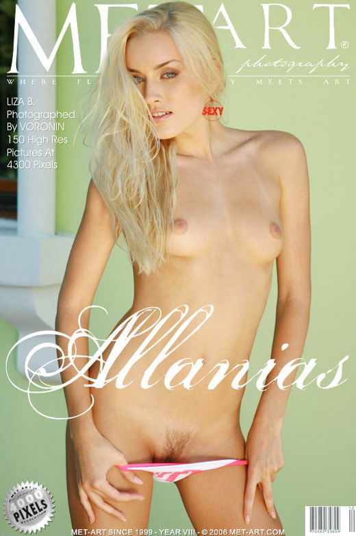 Liza B - `Allanias` - by Voronin for METART