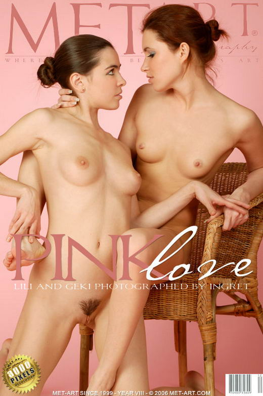 Geki A & Lili B - `Pink Love` - by Ingret for METART