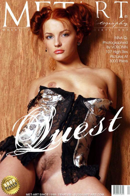Inna Q - `Quest` - by Voronin for METART