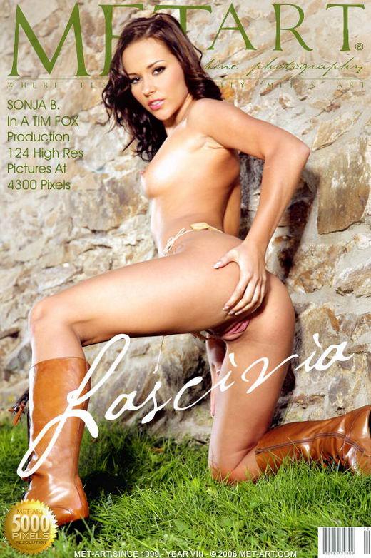 Sonja B - `Lascivia` - by Tim Fox for METART