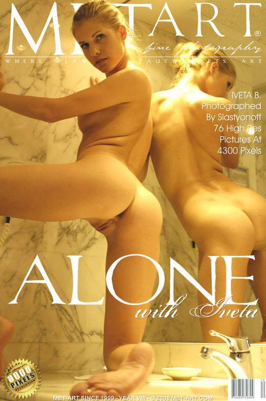 Iveta B - `Alone With Iveta` - by Slastyonoff for METART