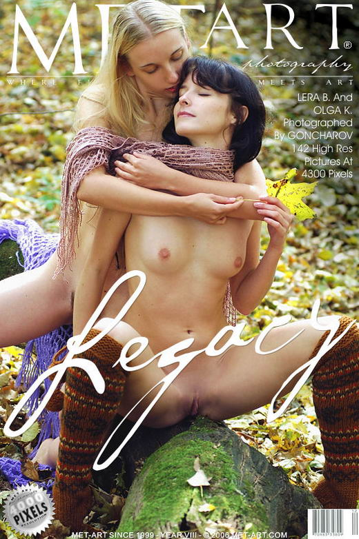 Olga K & Lera B - `Legacy` - by Goncharov for METART