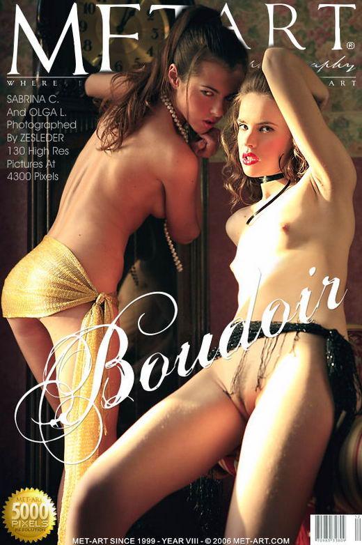 Sabrina C & Olga L - `Boudoir` - by Zesleder for METART