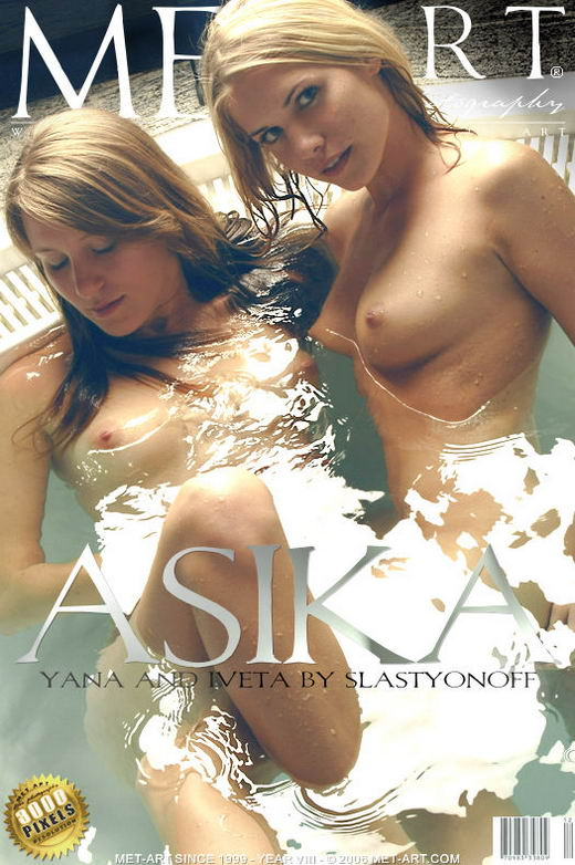 Yana B & Iveta B - `Asika` - by Slastyonoff for METART