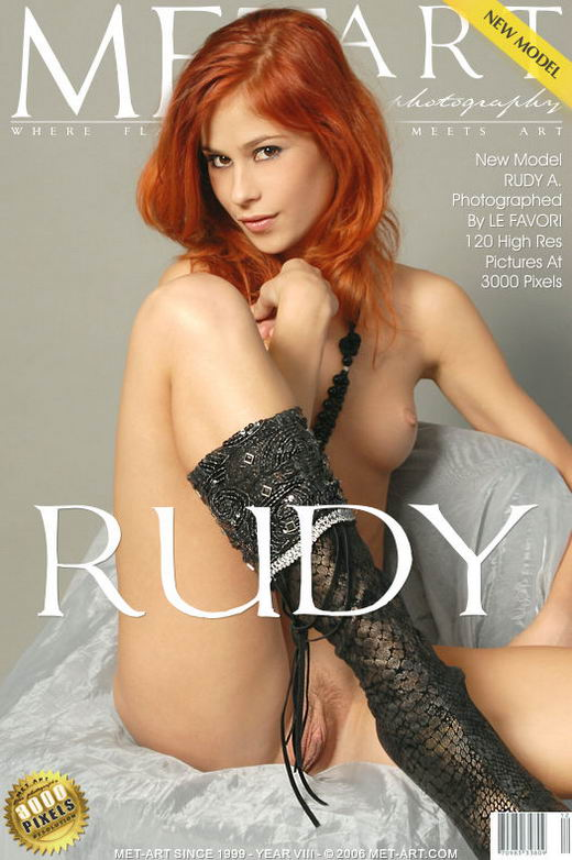 Rudy A - `Presenting Rudy` - by Andre Le Favori for METART