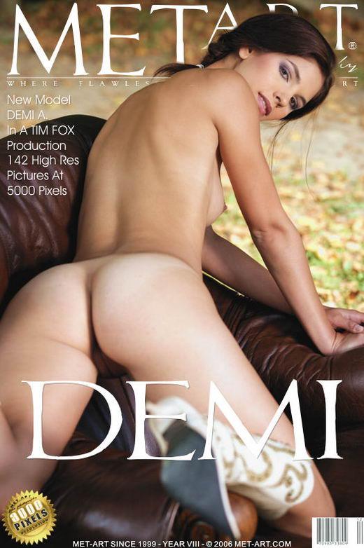 Demi A - `Presenting Demi` - by Tim Fox for METART