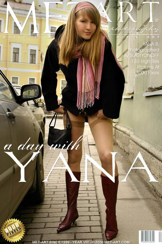 Yana B - `A Day With Yana` - by Slastyonoff for METART