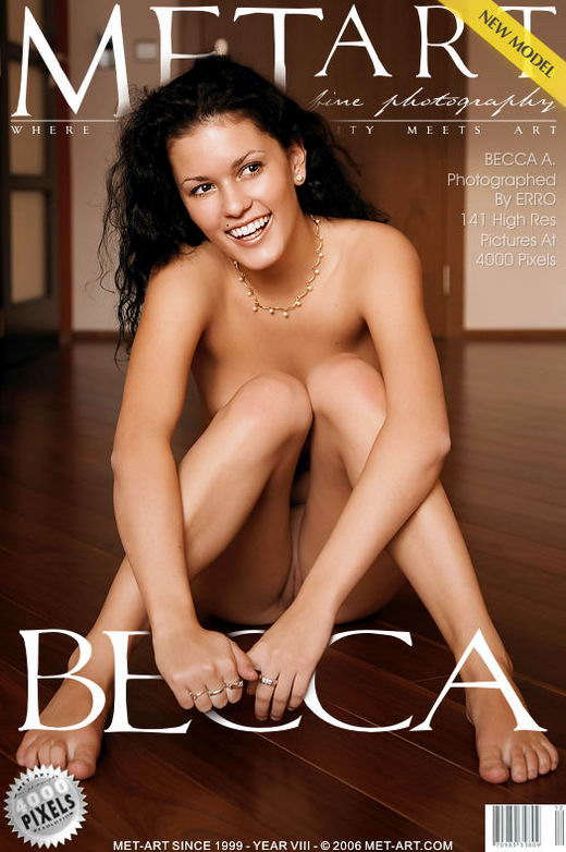 Becca A - `Presenting Becca` - by Erro for METART