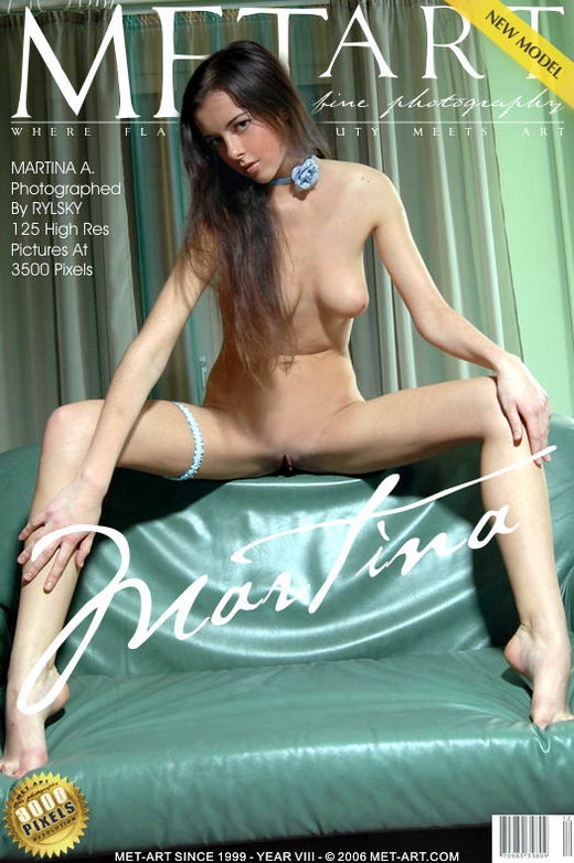 Martina A - `Presenting Martina` - by Rylsky for METART