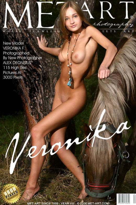 Veronika F - `Presenting Veronika` - by Alex Deonisius for METART