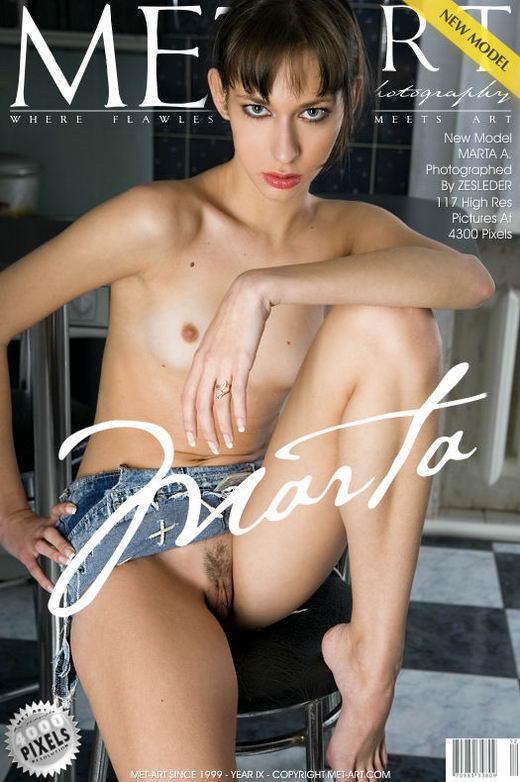 Marta A - `Presenting Marta` - by Zesleder for METART