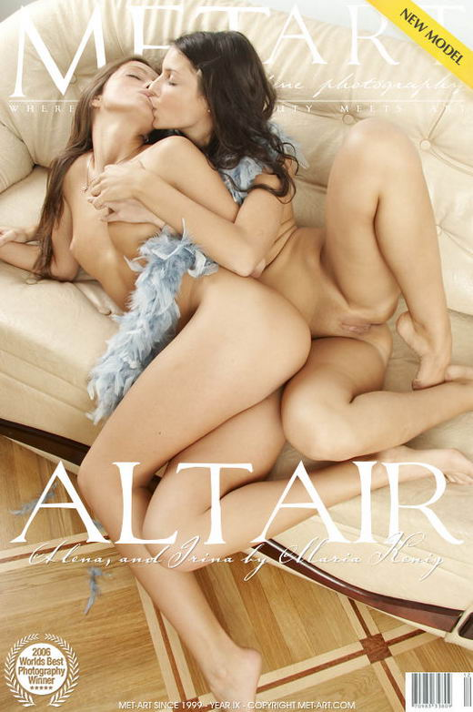 Irina N & Alena E - `Altair` - by Maria Kenig for METART