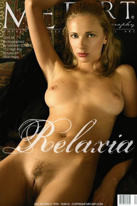 Olya M - `Relaxia` - by Natasha Schon for METART