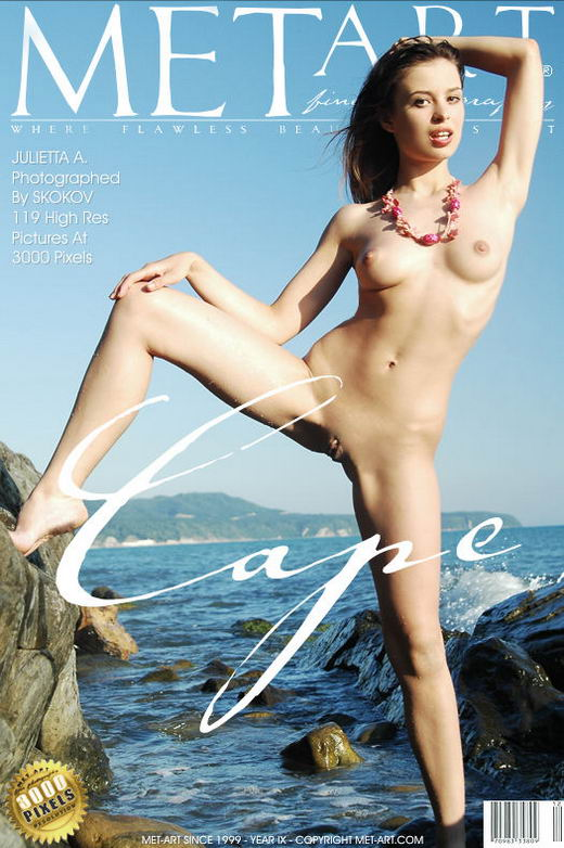 Julietta A - `Cape` - by Skokov for METART