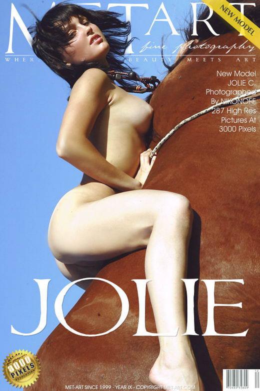 Jolie C - `Presenting Jolie` - by Nikonoff for METART