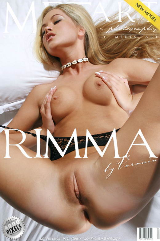 Rimma A - `Presenting Rimma` - by Voronin for METART