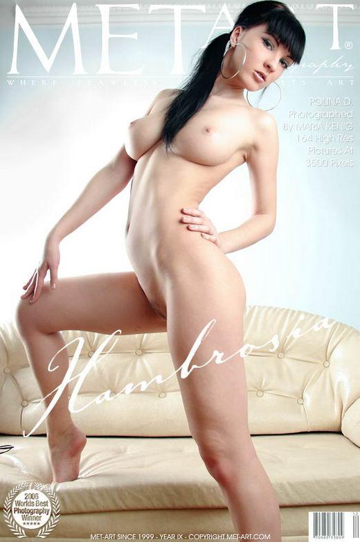 Polina D - `Hambrosia` - by Maria Kenig for METART