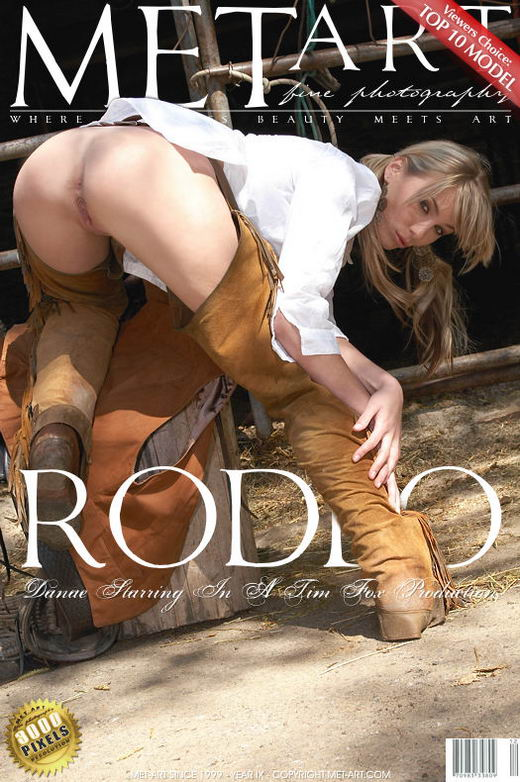Danae A - `Rodeo` - by Tim Fox for METART