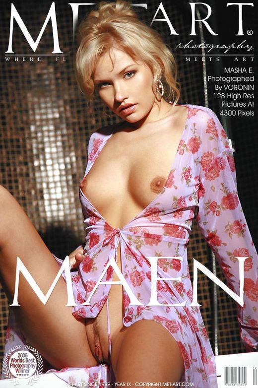 Masha E - `Maen` - by Voronin for METART