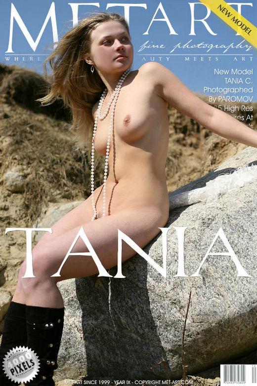 Tania C - `Presenting Tania` - by Paromov for METART