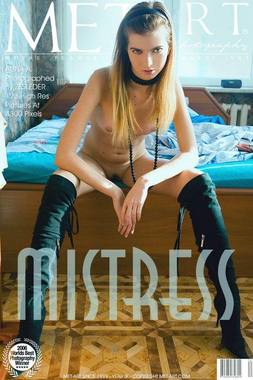 Alina A - `Mistress` - by Zesleder for METART