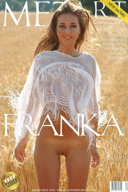 Franka A - `Presenting Franka` - by Slastyonoff for METART