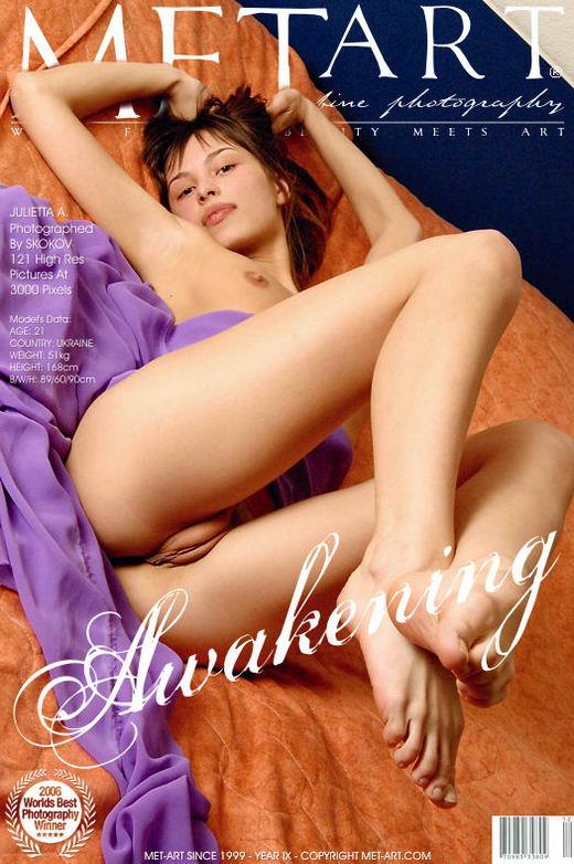 Julietta A - `Awakening` - by Skokov for METART