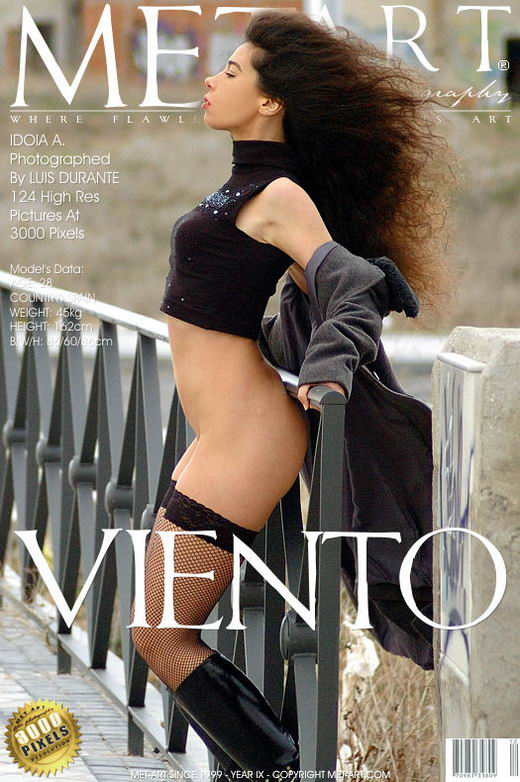 Idoia A - `Viento` - by Luis Durante for METART