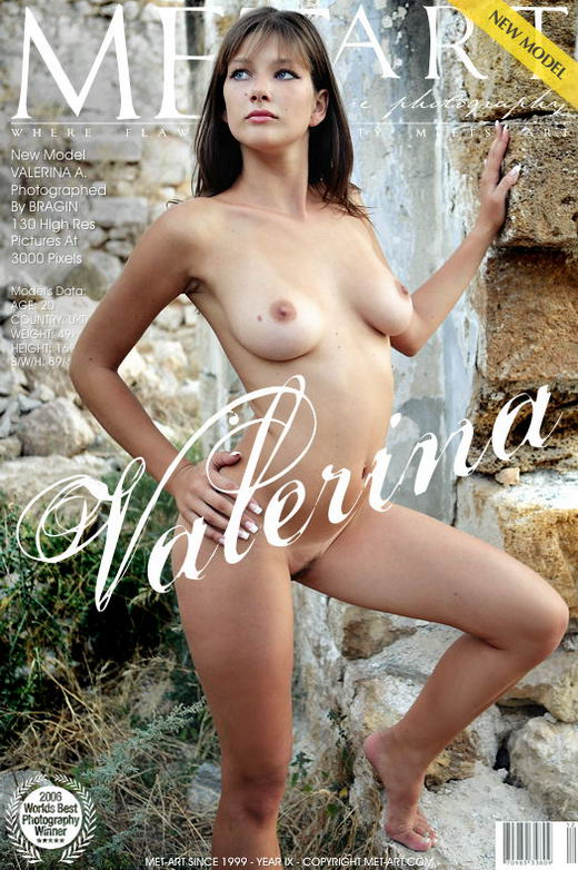 Valerina A - `Presenting Valerina` - by Bragin for METART
