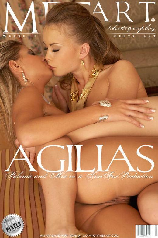 Mia A & Paloma A - `Agilias` - by Tim Fox for METART