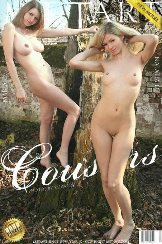 Maria D & Natalia D - `Cousins` - by Dmitri Kuropov for METART