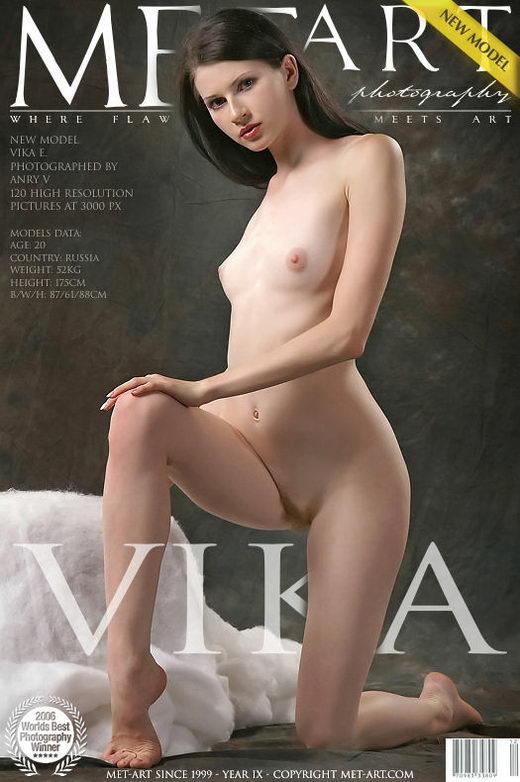 Vika E - `Presenting Vika` - by Anry V for METART