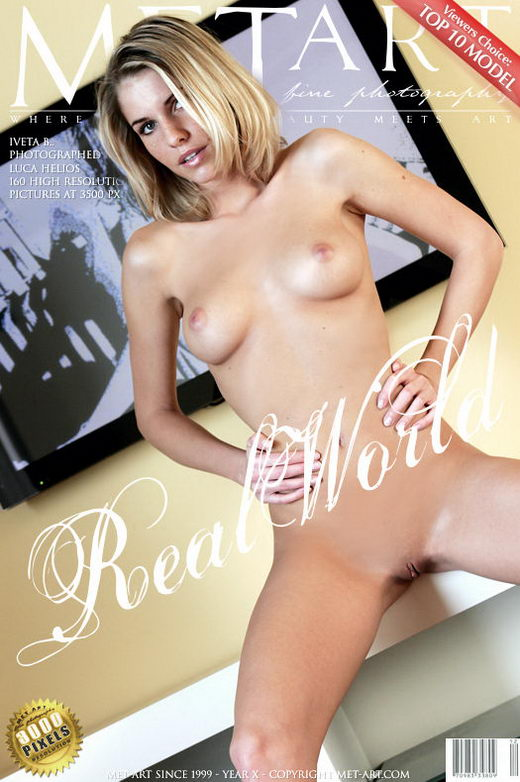 Iveta B - `Real World` - by Luca Helios for METART