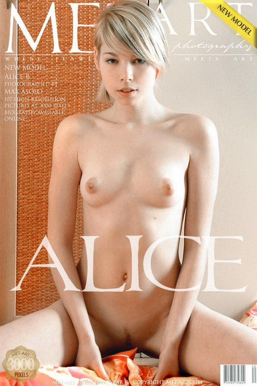 Alice B - `Presenting Alice` - by Max Asolo for METART