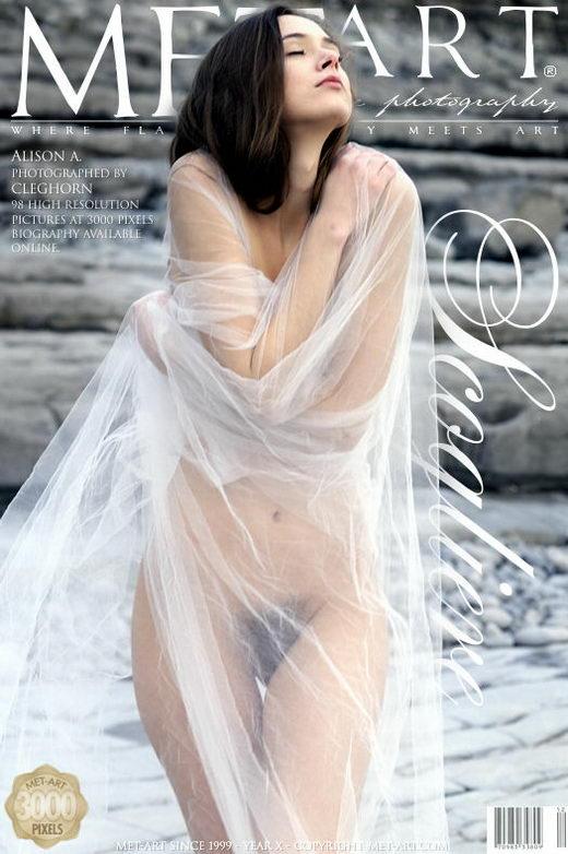 Alison A - `Scogliere` - by Cleghorn for METART