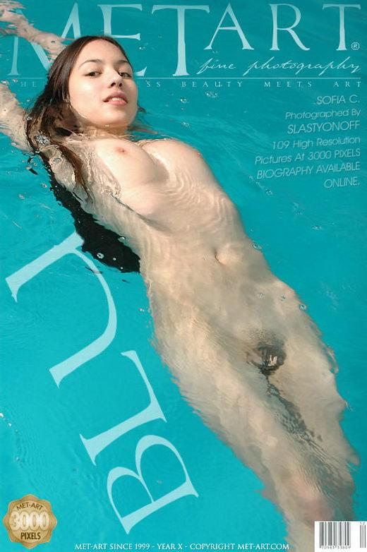 Sofia C - `Blu` - by Slastyonoff for METART