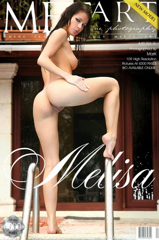 Melisa A - `Presenting Melisa` - by Mark for METART