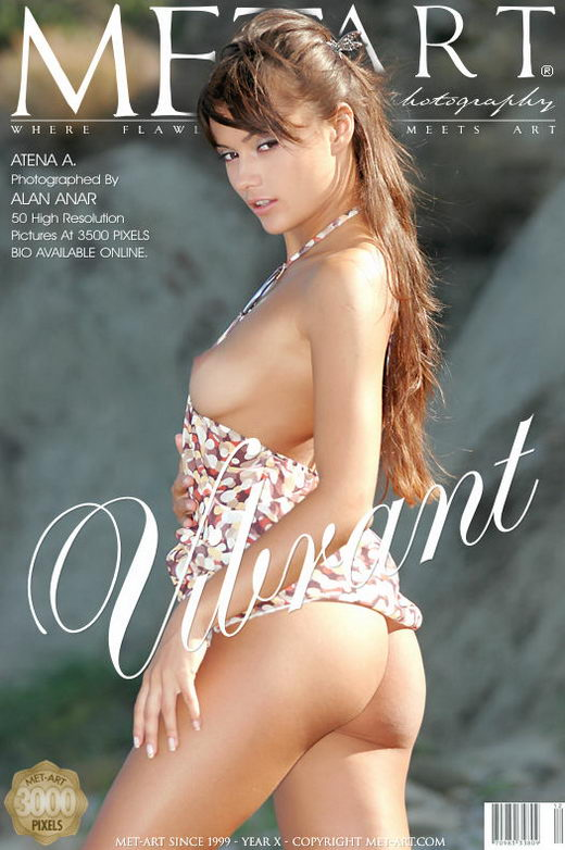 Atena A - `Vibrant` - by Alan Anar for METART