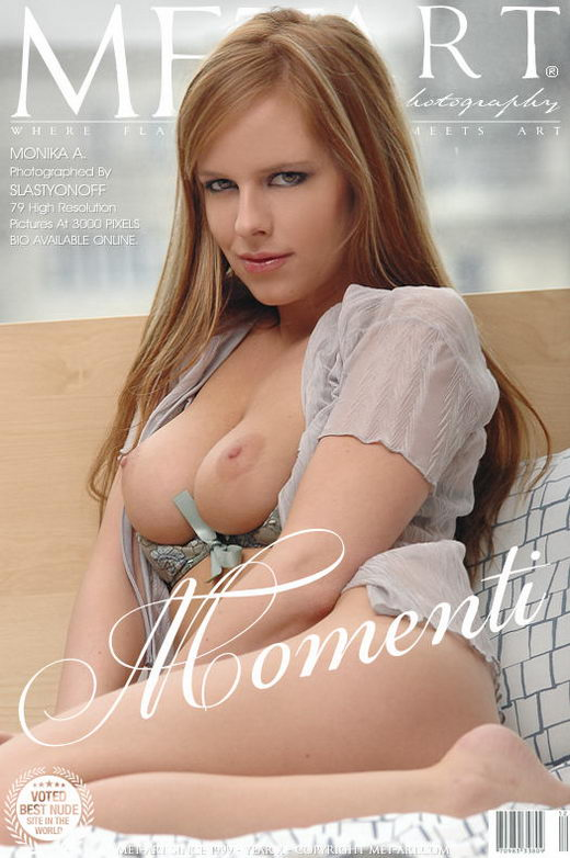 Monika A - `Momenti` - by Slastyonoff for METART