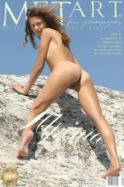 Vika K - `Alpinian` - by Mario Sala for METART
