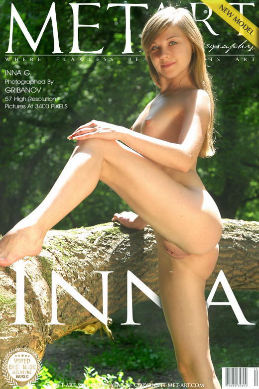 Inna G - `Presenting Inna` - by Gribanov for METART