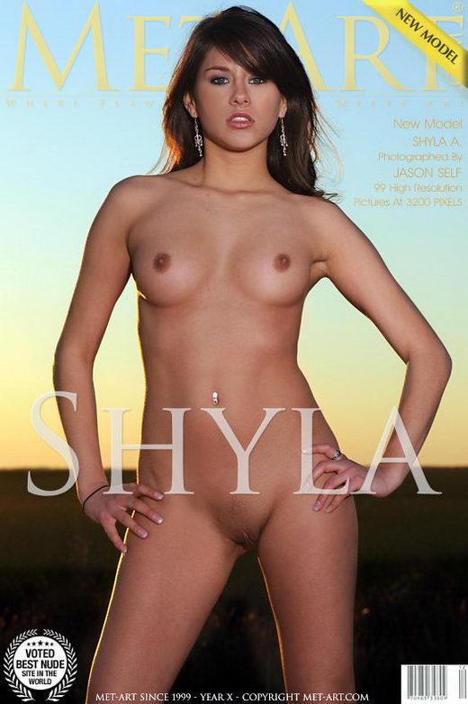 Shyla Jennings - `Presenting Shyla` - by Jason Self for METART