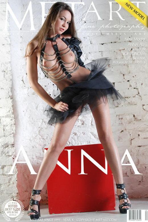 Anna Ad - `Presenting Anna` - by Sofronova Anastasia for METART
